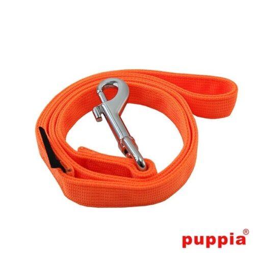 Puppia sele i neon farve orange