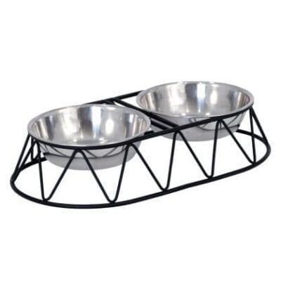 mad- og drikkeskål hund
